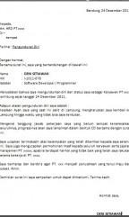Contoh Surat Bahasa Indonesia Lengkap | Referensi Surat Anda