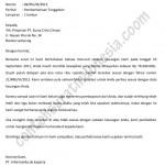Contoh Surat Penagihan Hutang / Pemberitahuan Tunggakan Perusahaan