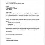 Contoh Surat Permintaan Penawaran Barang (Alat Tulis Kantor)