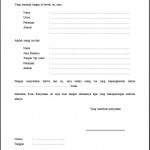 contoh surat pernyataan penghasilan orang tua surat keterangan untuk