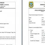 Contoh Surat Keterangan Melaksanakan Tugas Guru (SKMT)