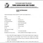 Contoh Surat Keterangan Guru Untuk Mendapatkan Tunjangan Profesi