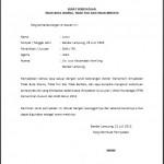 Contoh Surat Pernyataan Tidak Buta Warna, Tidak Tuli dan Tidak Bertato