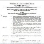 Contoh Surat Pengangkatan Pengurus dan Tenaga Pengajar Pendidikan PAUD