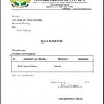 Contoh Surat Pengantar Laporan Bulanan PAUD