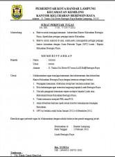 Kumpulan Lengkap Contoh Surat Bahasa Indonesia   Referensi Surat Anda