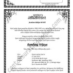 surat undangan tahlil 40 100 1000 hari haul contoh undangan tahlil ...