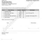 Contoh Surat Jalan Pengiriman Barang / Surat Pengantar Barang
