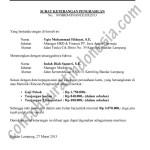 Contoh Surat Keterangan Penghasilan atau Gaji Karyawan