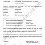 Contoh Surat Pernyataan Penguasaan Fisik Bidang Tanah