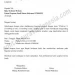Contoh Surat Undangan Seminar versi Ms. Word Document