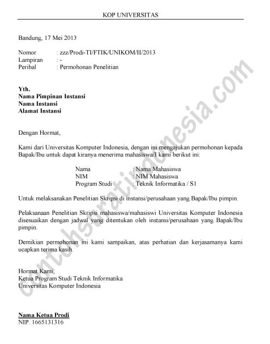 Contoh Penulisan Proposal Praktek Kerja Lapangan Magang 105677