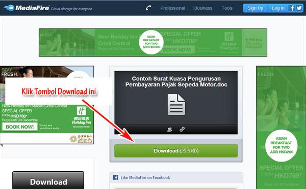 cara-download-contoh-surat-mediafire-2